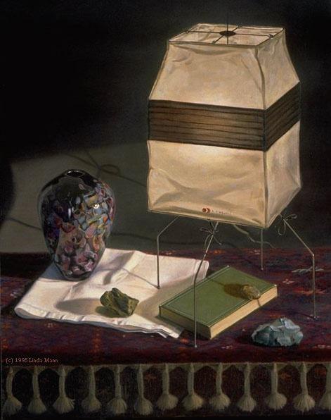 Линда Манн. Лампы с книгами