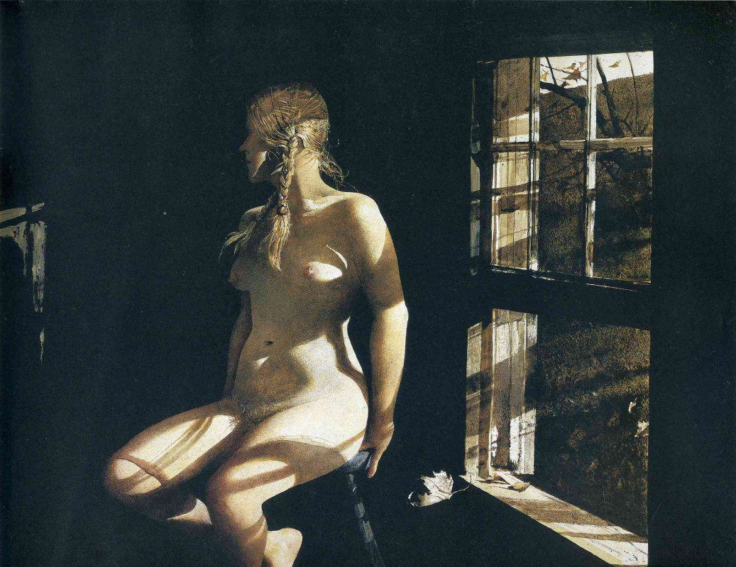 Andrew Wyeth. Lovers