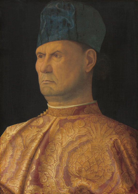 Giovanni Bellini. Portrait of a Condottiere (Portrait of Giovanni Emo)