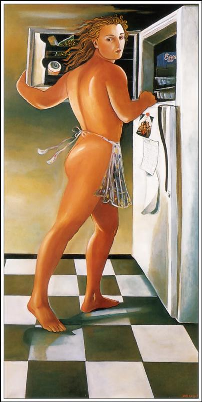 Эдит Воннегут. Богиня в морозильнике