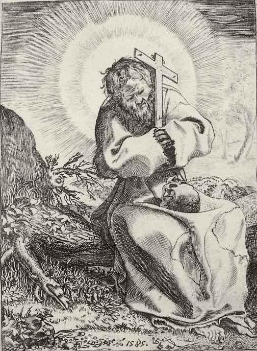 Аннибале Карраччи. Святой Франциск