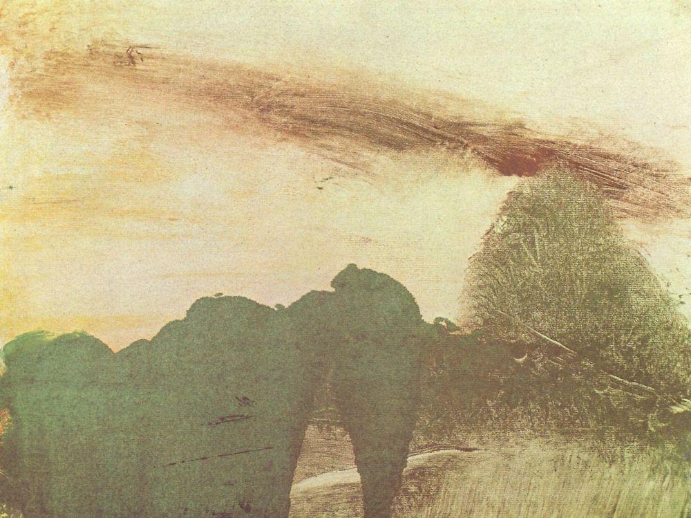 Эдгар Дега. Лес в горах