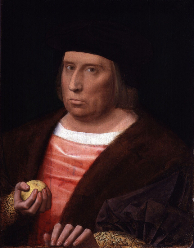 Unknown artist. John Boucher, 2nd Baron Berners. 1520-1530