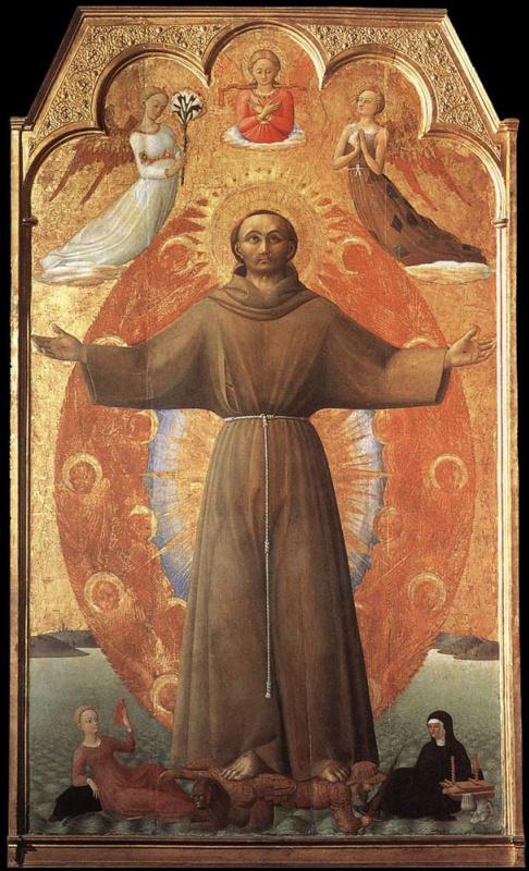 Сассетта. Блаженство святого Франциска