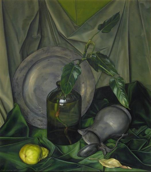 Луиджи Лучиони. Зеленый и серый