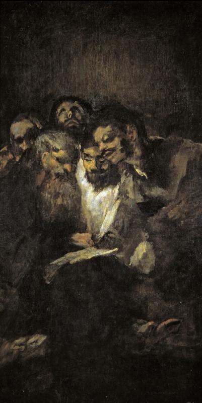 Франсиско Гойя. Читающие мужчины
