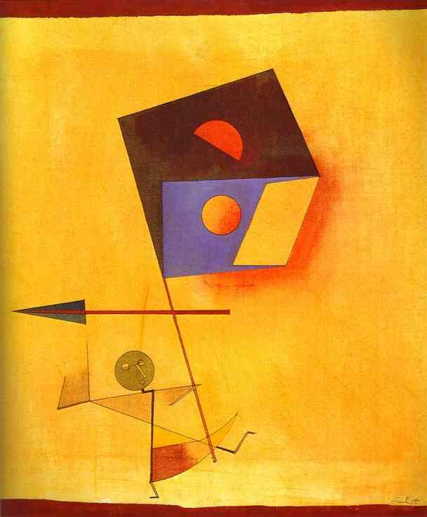 Paul Klee. Conquistador