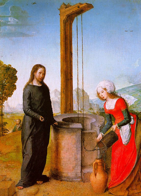 Хуан Де Фландес. Христос у колодца