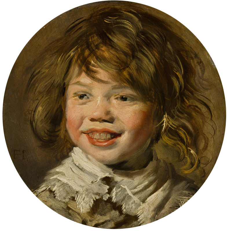 France Hals. Laughing boy