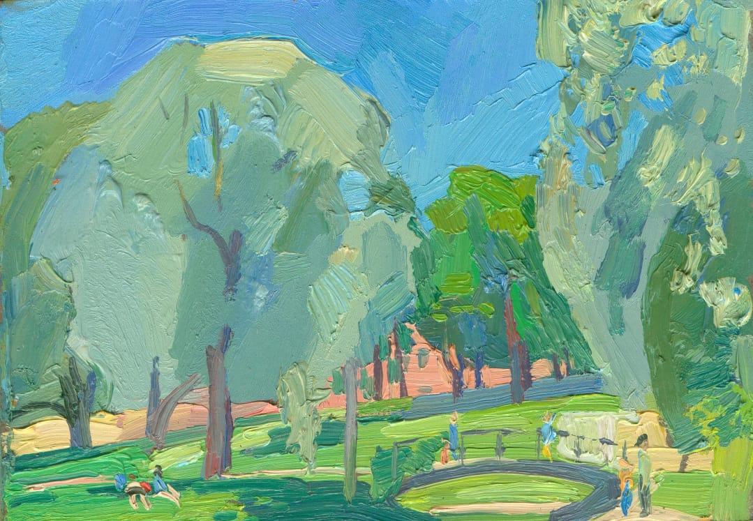 Sergey Borisovich Nikolsky. Yusupov garden