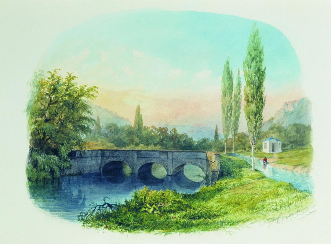 Лев Феликсович Лагорио. Севастопольский водопровод в Ушаковской балке