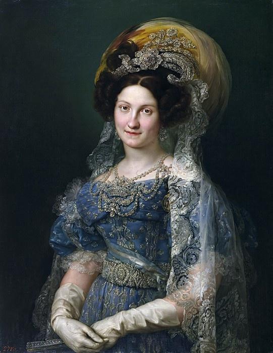 Vicente Lopez-i-Portagna. Maria Cristina de Bourbon, Queen of Spain