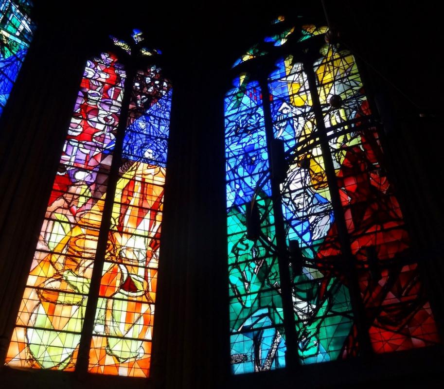 Марк Захарович Шагал. Витражные окна для Собора Св. Стефана (Мец)