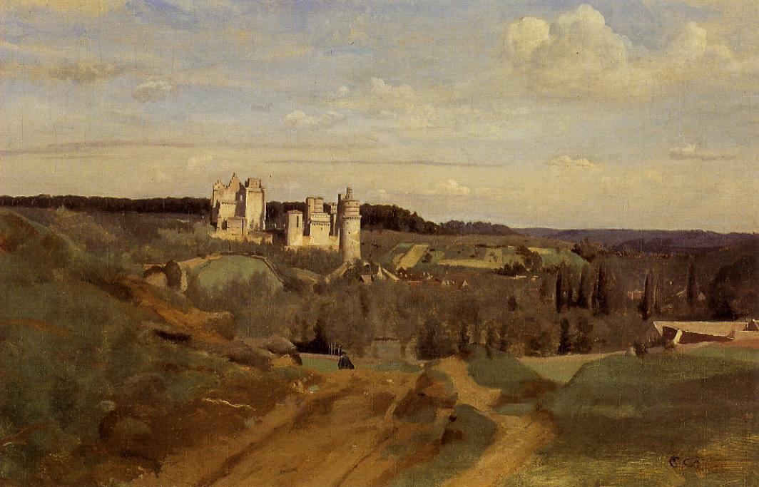 Камиль Коро. Замок