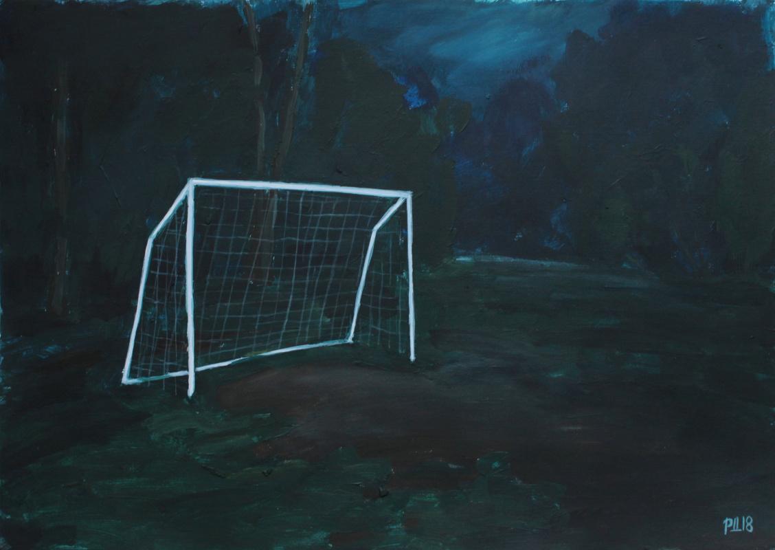 Денис Григорьевич Русаков. Night football