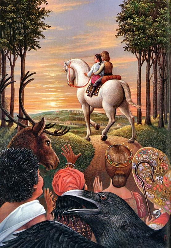 Ричард Хесс. На коне