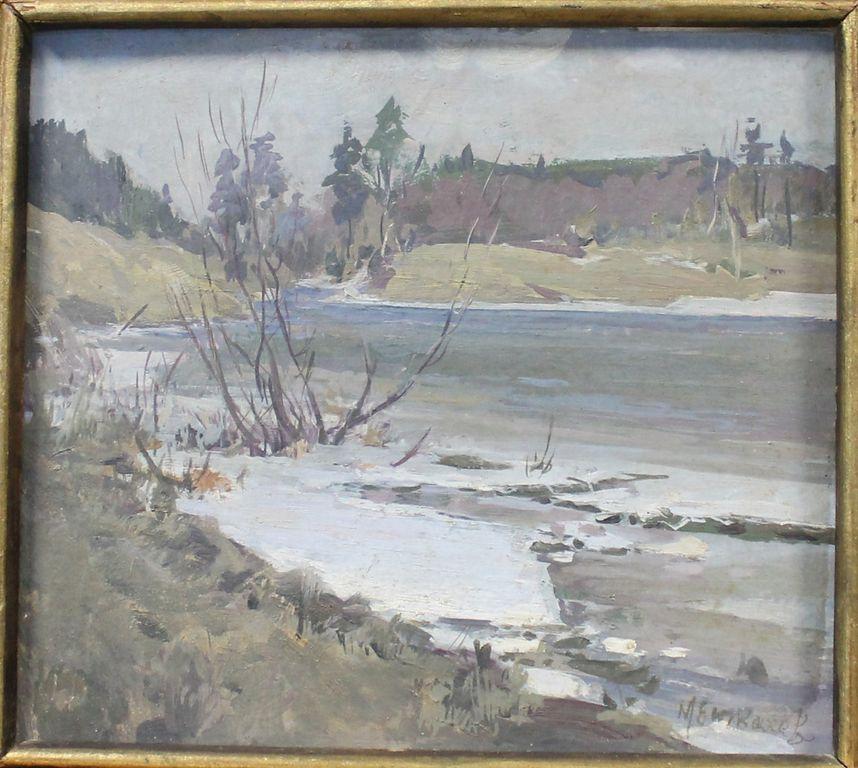 Mikhail Evdokimovich Tkachev. Spring etude