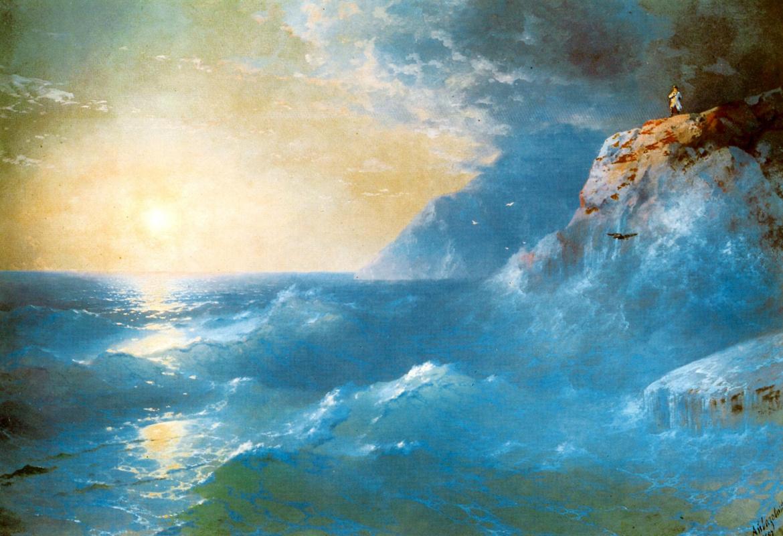 Ivan Aivazovsky. Napoleon on St. Helena