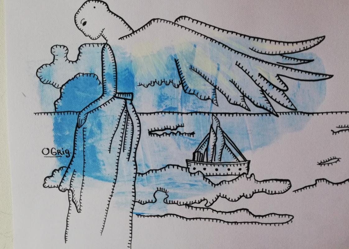Olga Grig. Angel of the sea