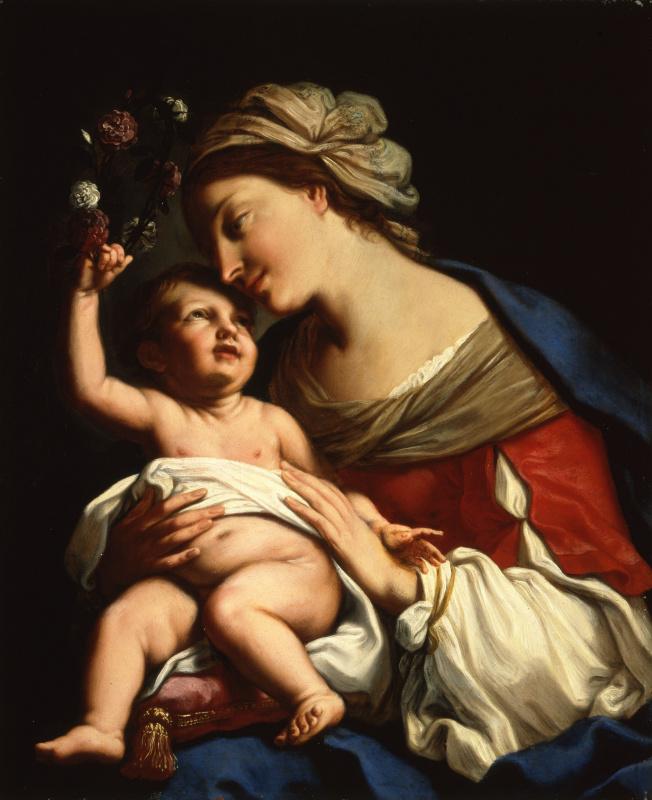 Элизабетта Сирани. Богородица с Младенцем