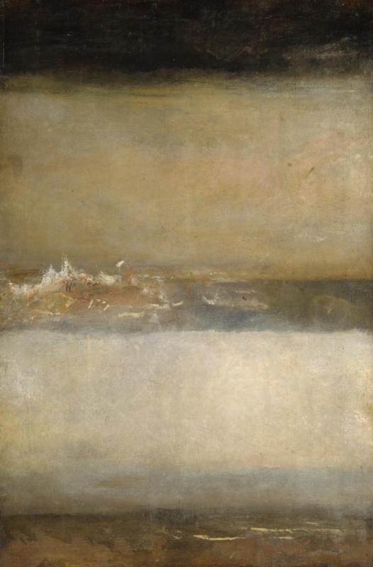 Joseph Mallord William Turner. Three sea