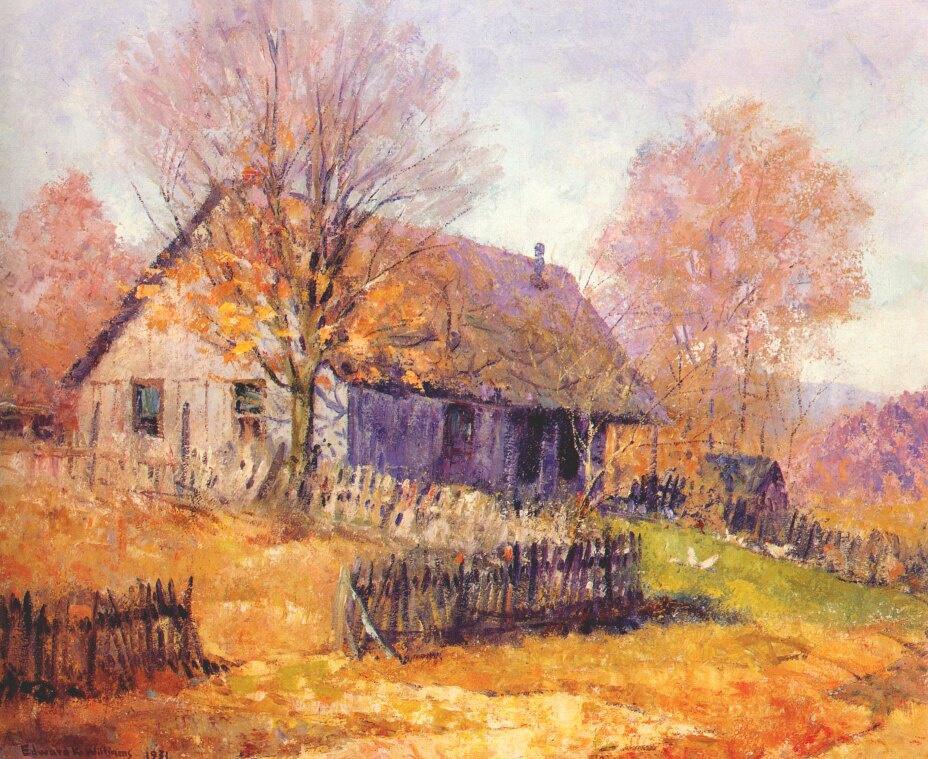 Edward Williams. Hut