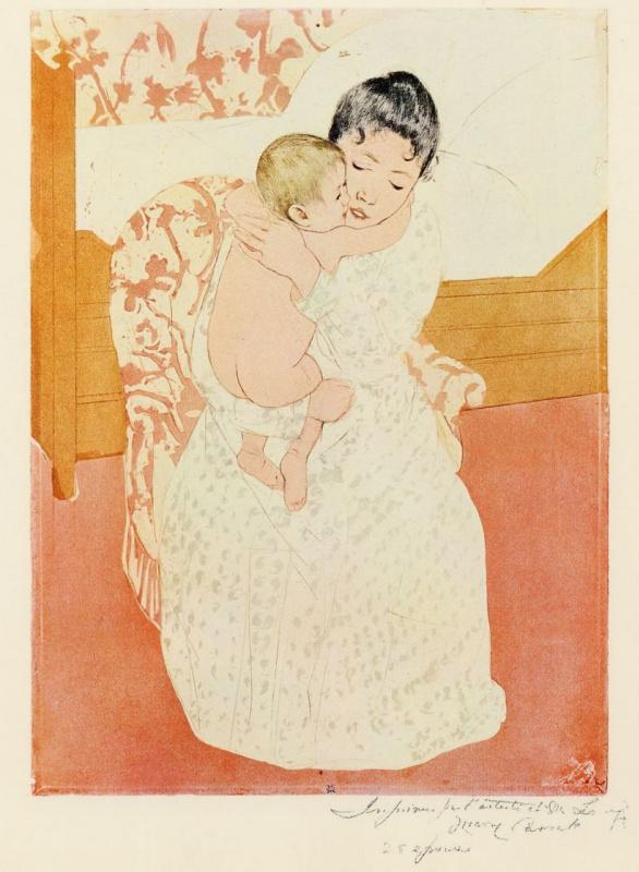 Mary Cassatt. Maternal tenderness