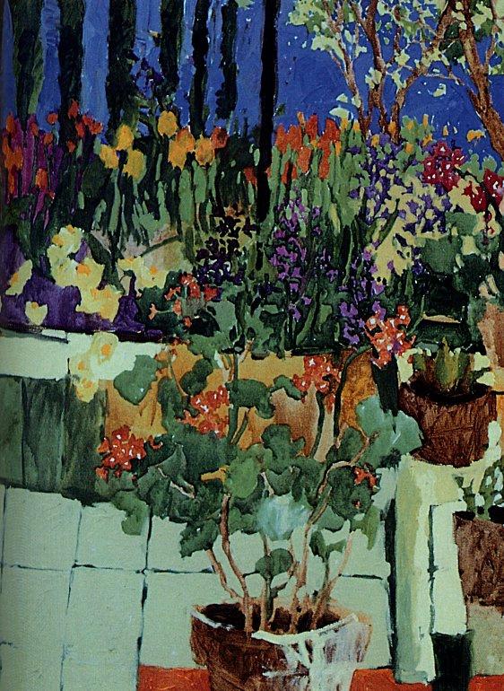 Клауд Симард. Тюльпаны весной2