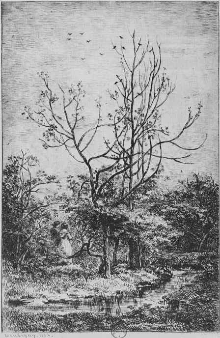 Шарль-Франсуа Добиньи. Фруктовый сад