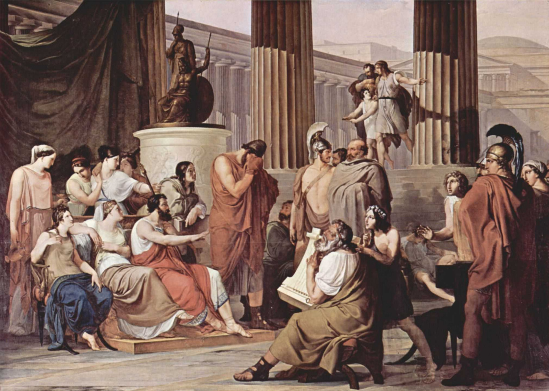no peace for odysseus Summary: by a twist of fate, hector slew achilles disheartened, many greek soldiers fled cowardly agamemnon escaped, burning what ships remained to prevent his enemies from following him, leaving behind his brother and odysseus to face the might of troy.