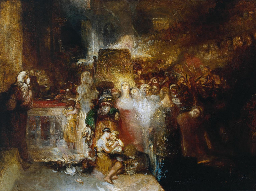 Джозеф Мэллорд Уильям Тёрнер. Пилат, умывающий руки
