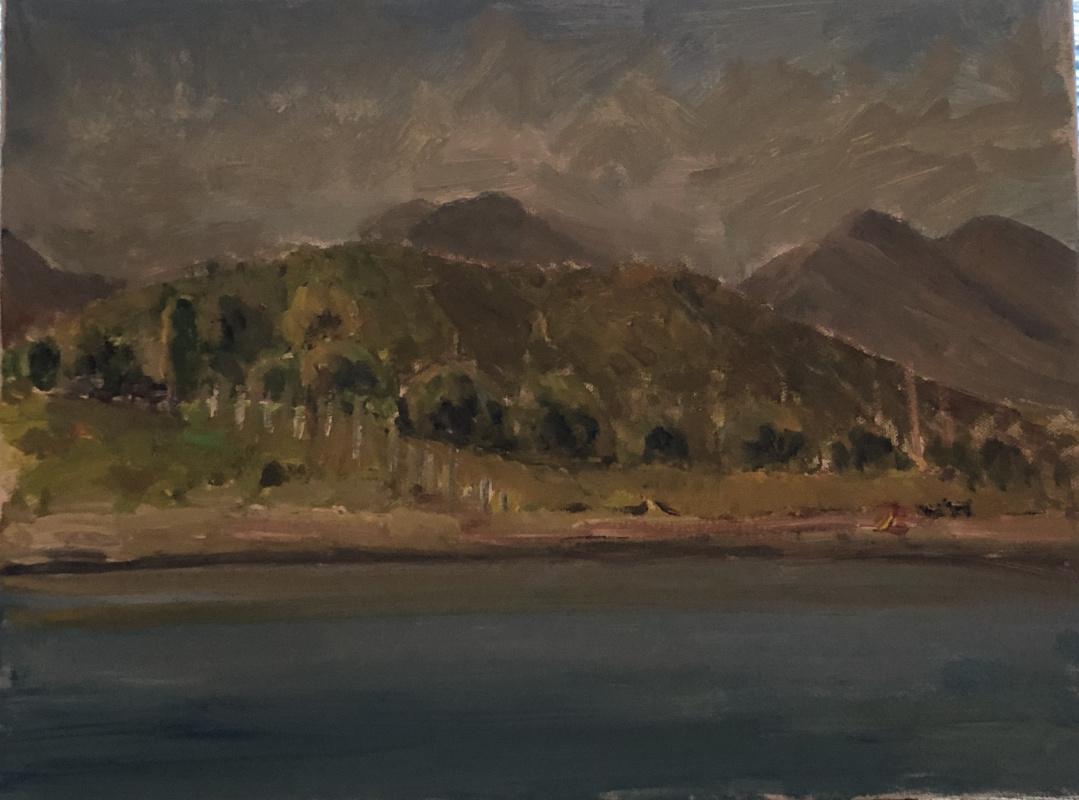 Виктория Мальшакова. Evening on the island of Kastos.