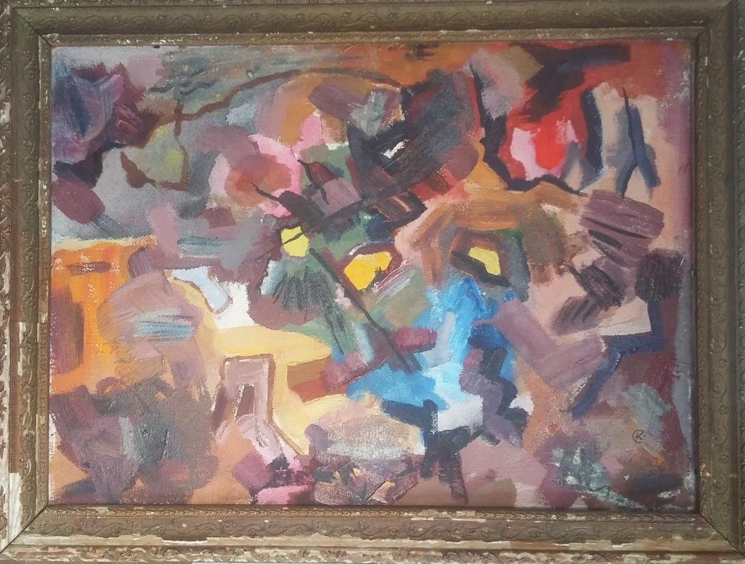 Glory Komisarov. Abstraction
