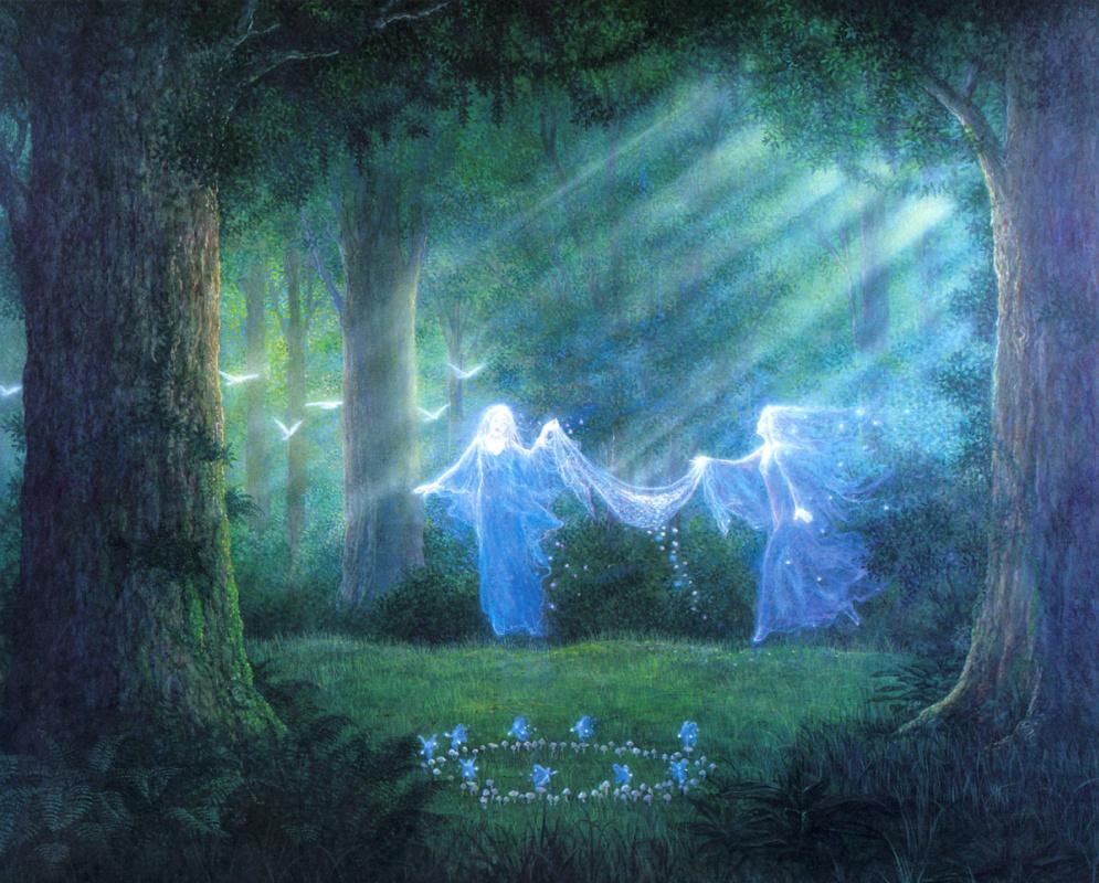 Гилберт Уильямс. Танец духов природы
