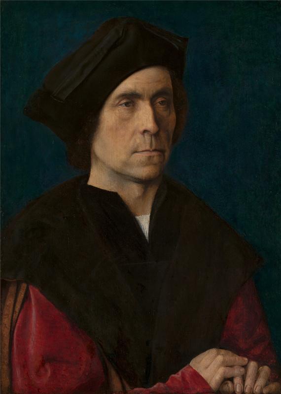 Michel Sittow. Portrait of a Man