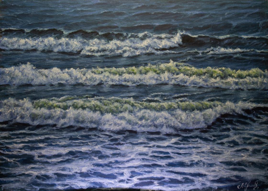Valery Levchenko. № 597  Морской пейзаж.