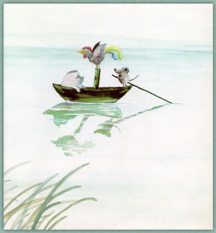 Хельме Гейне. Друзья в лодке