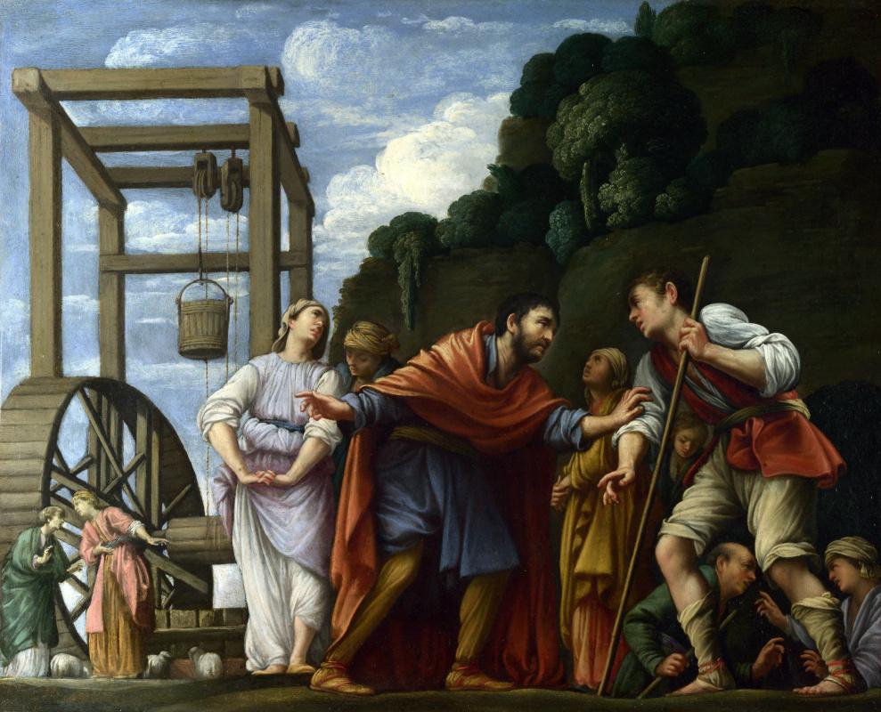Карло Сарачени. Моисей защищает дочерь Иофора