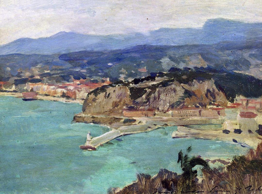 Исаак Ильич Левитан. Озеро Комо. Италия
