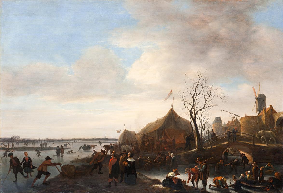 Ян Стен. Зима