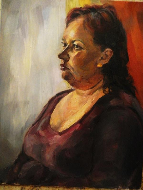 Selena Zhigulskaya. Portrait