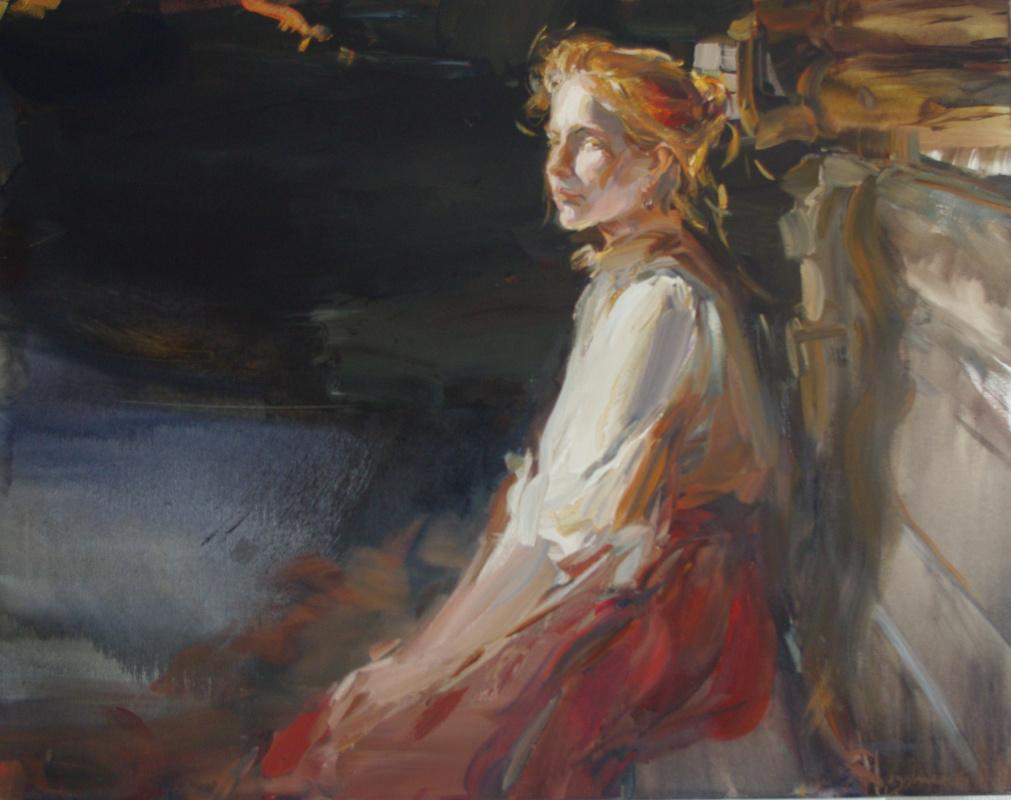 Natalia Borisovna Razumenko. Redhead