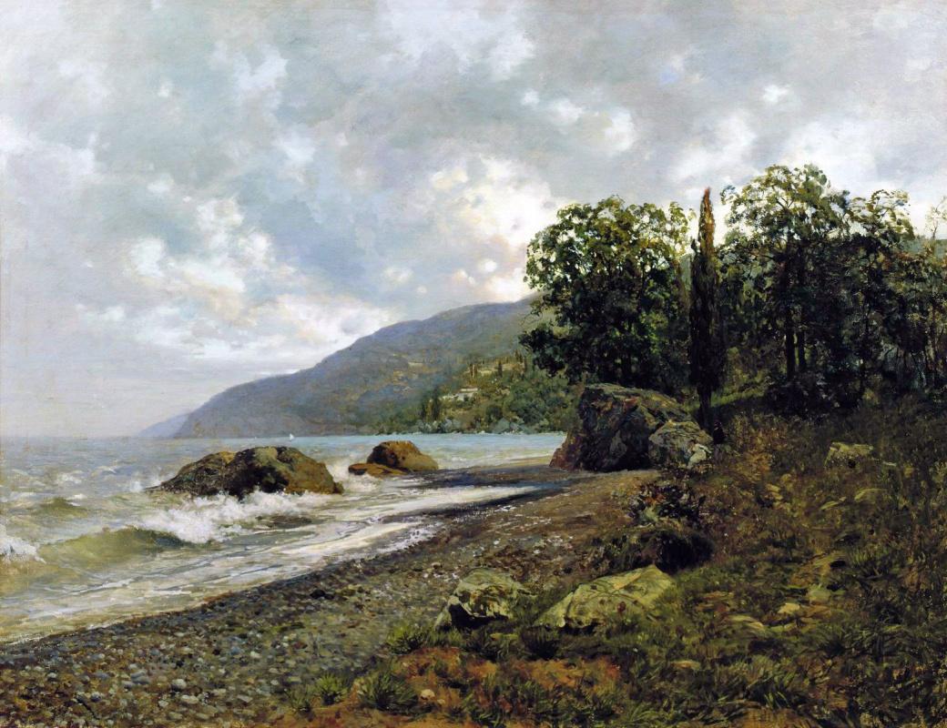 Isaac Levitan. Crimean landscape