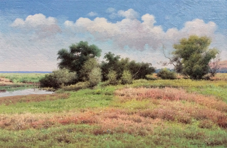 Vasily Ivanovich Gribennikov. Summer afternoon