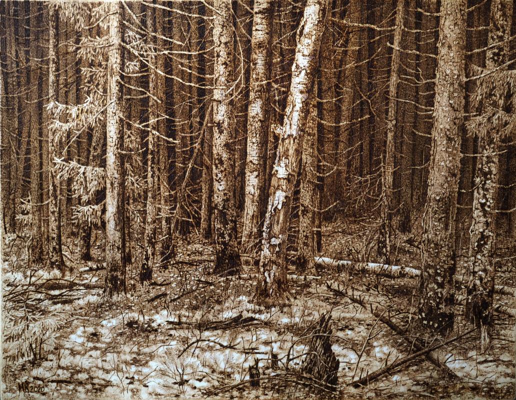 Nadezhda Anatolyevna Krylova. Magical forest.