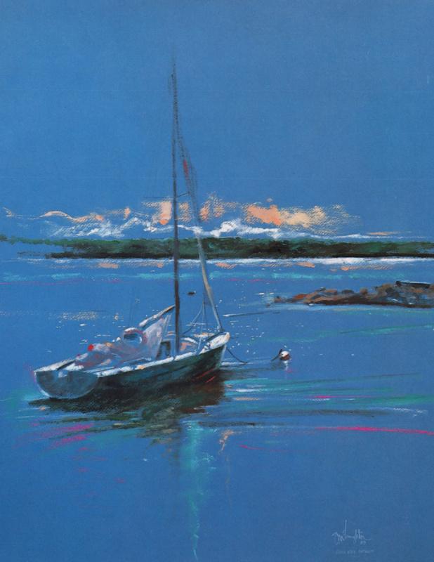 Гари Маклафлин. Синие море
