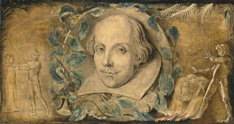 William Blake. William Shakespeare