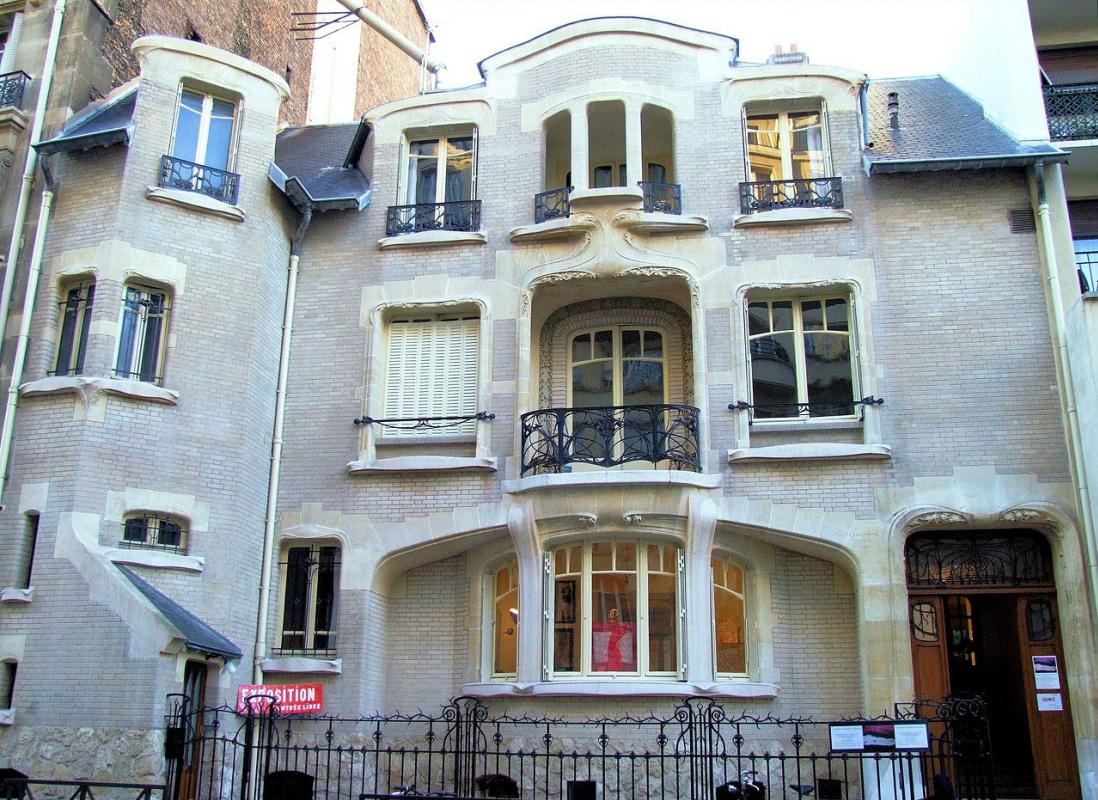 Hector Guimard. Mezzar Mansion, Paris