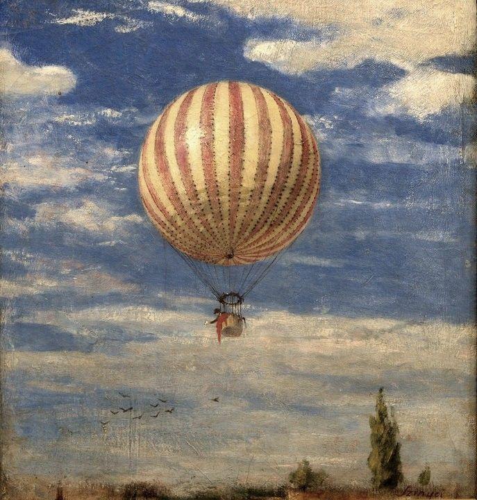 Пал Синьеи-Мерше. Воздушный шар