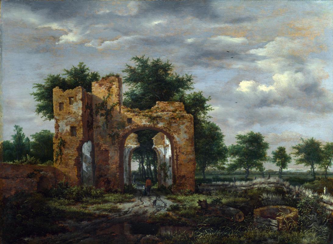 Якоб Исаакс ван Рейсдал. Разрушенный замок